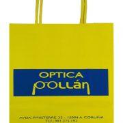 Bolsas de papel Optica Pollan