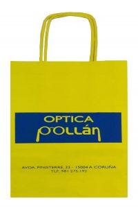 Bolsa de papel Optica Pollan