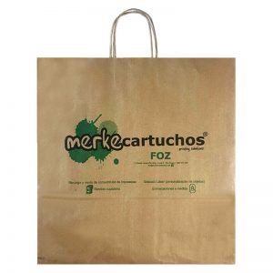 Bolsas de papel para Merkecartuchos