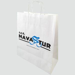 Bolsas de papel para club ciclista en Asturias