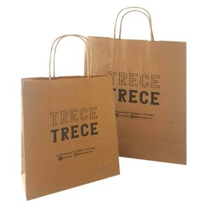 Bolsas de papel para TRECE