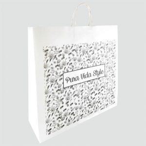 Bolsas de papel para tienda de moda