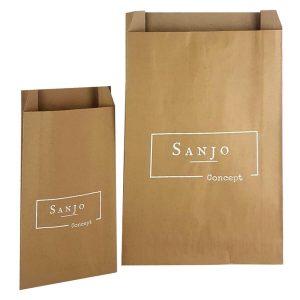 Sobres de papel para tienda de moda