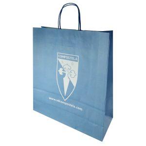 Bolsas de papel para SD Compostela
