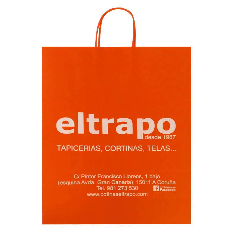 Bolsas de papel para EL TRAPO