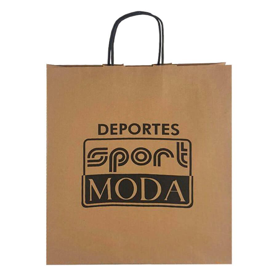 Bolsas de papel para SPORT MODA