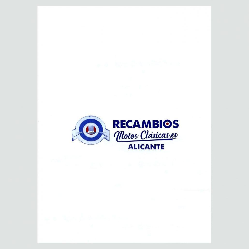 Sobres personalizados para envío por correo para tienda de repuestos en Alicante