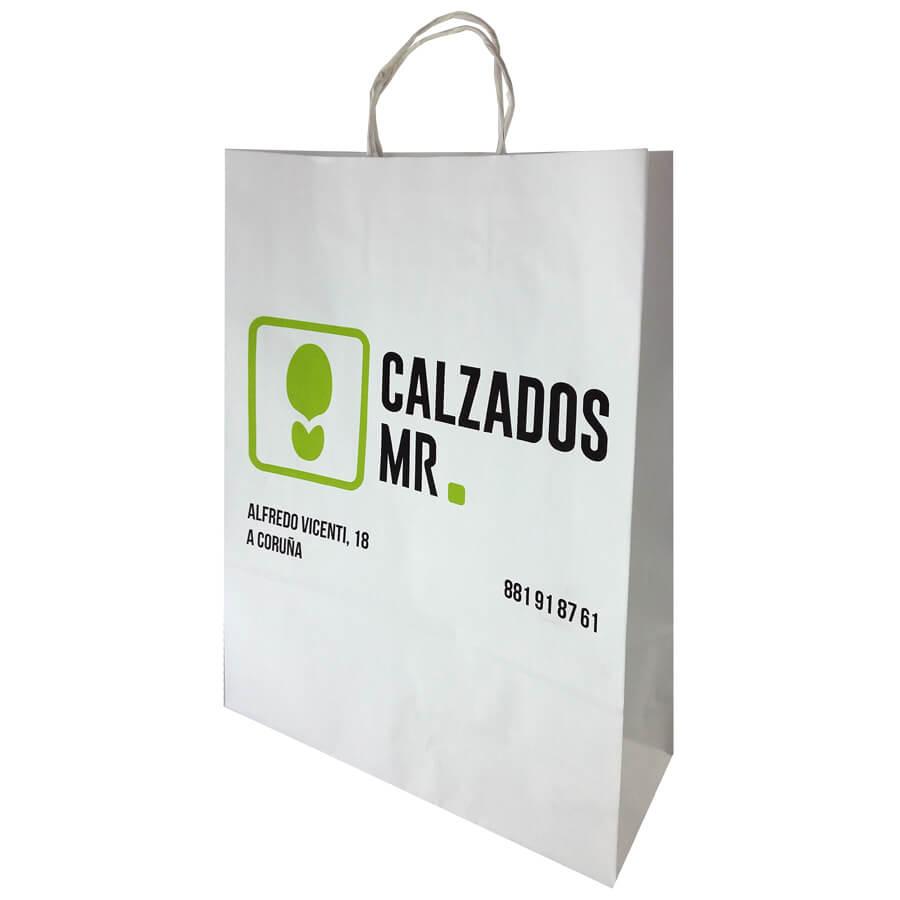 Bolsas de papel para zapateria Coruña