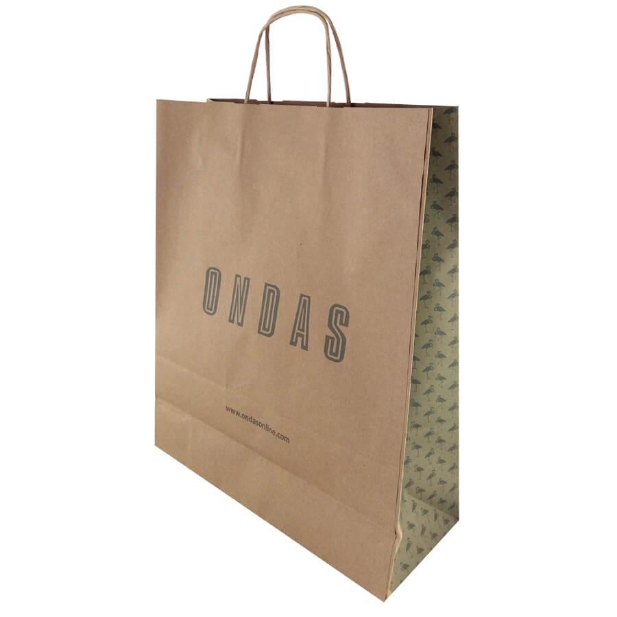 Bolsas de papel para tiendas de moda Galicia.