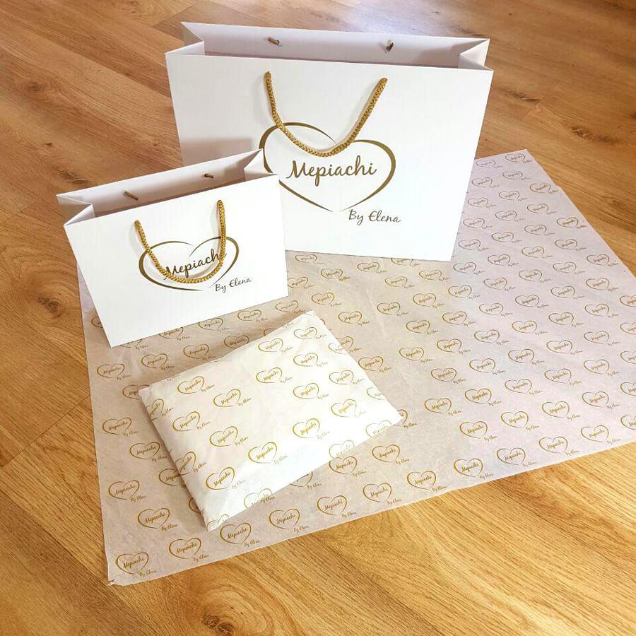 Bolsas de papel de lujo para tiendas de moda Pontevedra