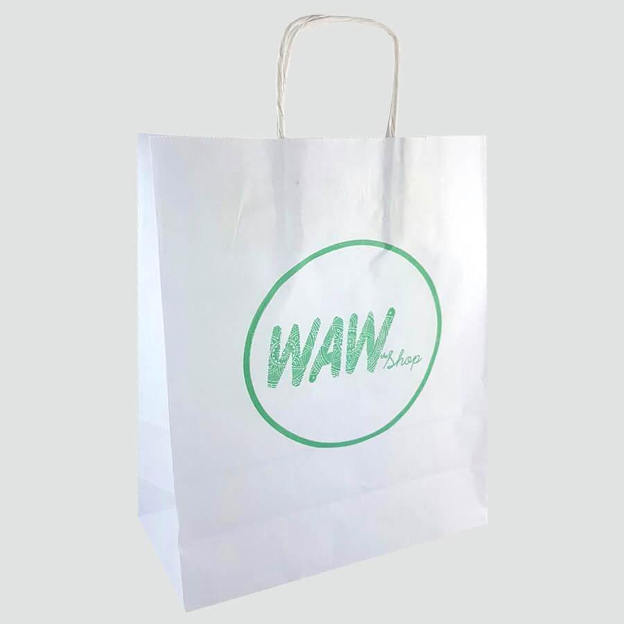 Bolsas de papel para tienda de moda de Valencia