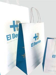 Bolsas de papel para clínica de Asturias