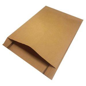 Sobres de papel kraft para tienda de moda