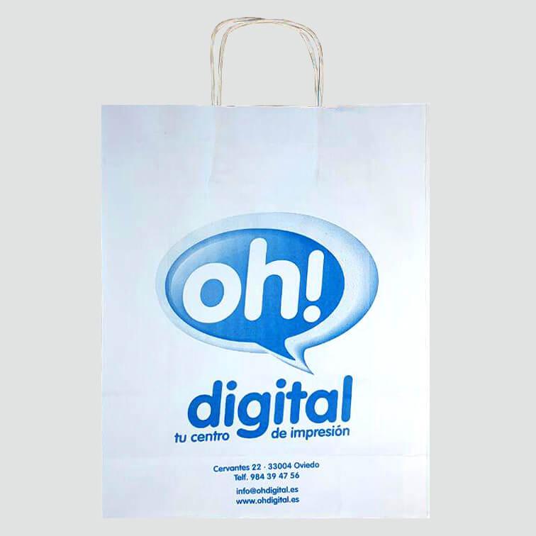Bolsas de papel para reprografía de Oviedo