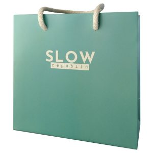 Bolsas de papel de lujo para tienda de bisutería