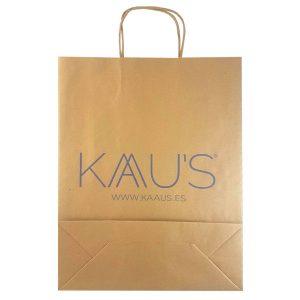 Bolsas de papel kraft para comercios tienda de moda
